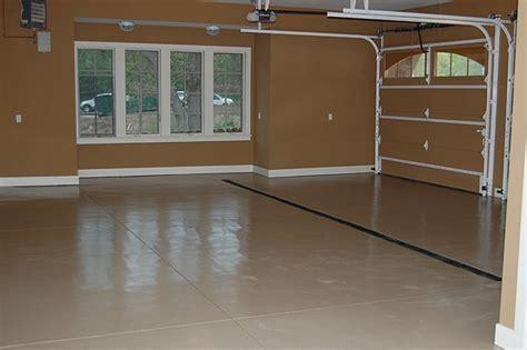 Garage Floor Finishes