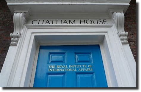 Chatham House by In Profile The Committee Of 300 S Table Network