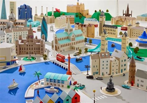 How To Make A Paper City -