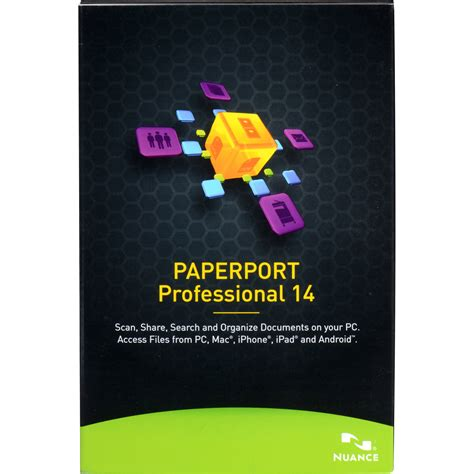 paperport professional 14 0 nuance paperport professional 14 boxed f309a g00 14 0 b h