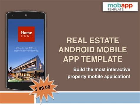 Get Real Estate Android Mobile App Template Only At 99 Android App Privacy Policy Template