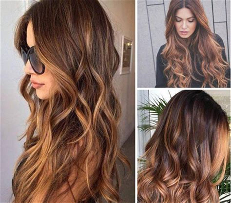 Most Popular Hair Colors For Spring | colore capelli il balayage per le castane
