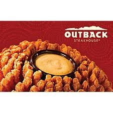 Outback Steakhouse Gift Card Check - 17 best images about outback steakhouse recipes on pinterest steaks places and best