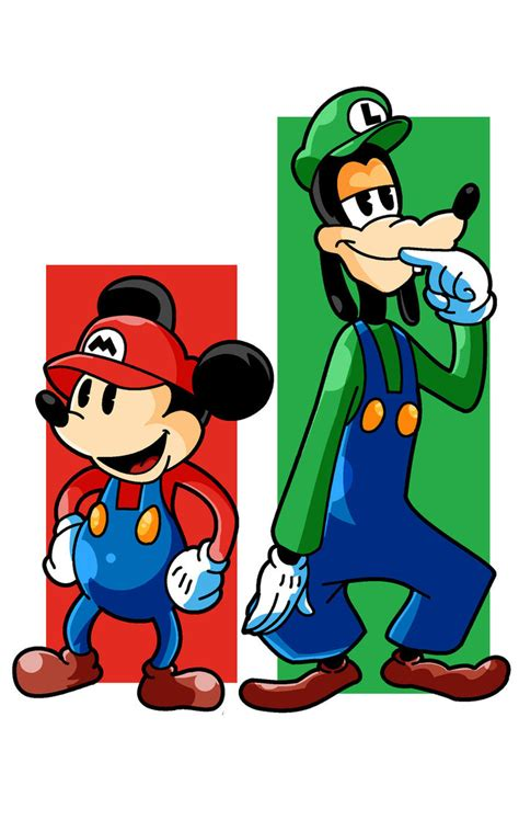 Surpet Mickey Mouse mickey brothers by punkmetalhead on deviantart