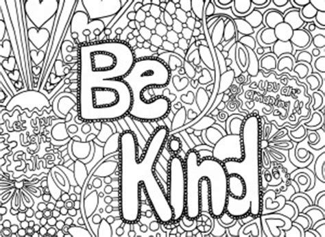 hard coloring pages with quotes full color page to quotes quotesgram
