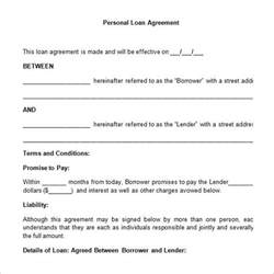 loan agreement template 26 great loan agreement template