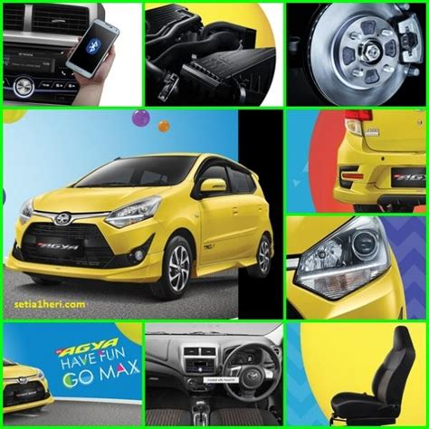 All New Toyota Agya new agya 1 2 g a t trd mobilbekas