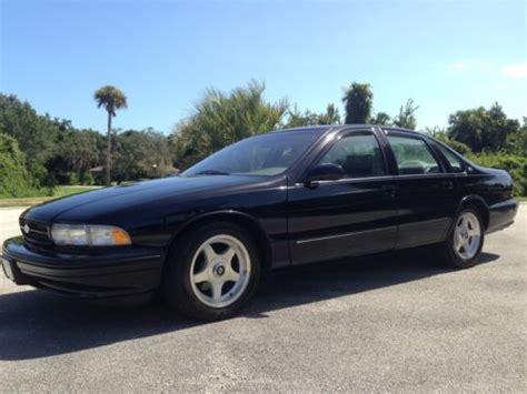 purchase used 1996 chevy impala ss 21k 5 7 liter v8