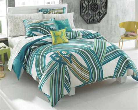 girls teal bedding roxy teen girls teal aqua striped swirls comforter set