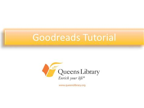 How To Search For On Goodreads Goodreads Tutorial