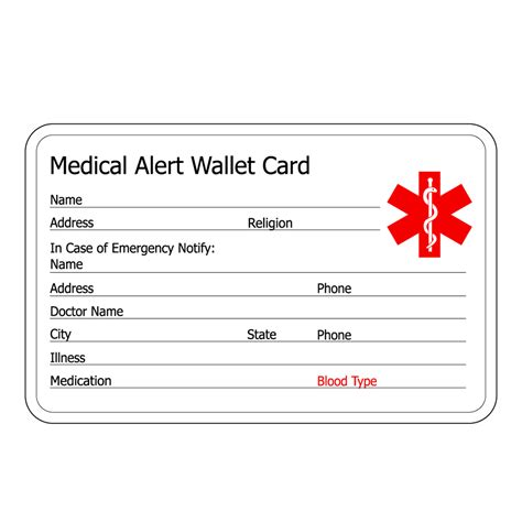 Alert Wallet Card Template Canada by Pink Genuine Leather Alert Id Bracelets For