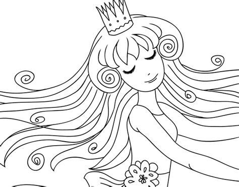 Colouring Book Sweet Princess sweet princess coloring page coloringcrew