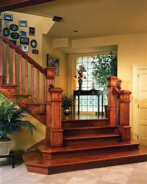 How To Build Interior Stairs With A Landing by Interior Style Guide Stylish Timber Home Staircases