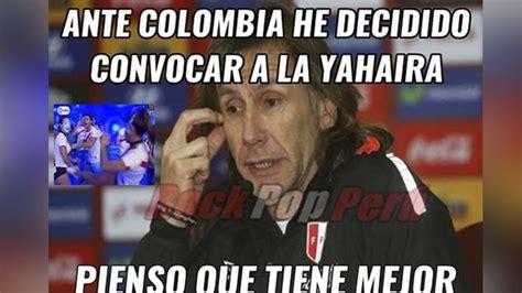 Memes De Peru Vs Colombia - memes en facebook del partido per 250 vs colombia por
