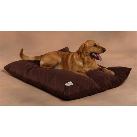 big dog pillow bed sporting dog solutions large pillow bed with driwik