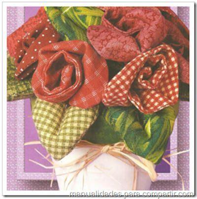 decorar maceta paso a paso como hacer rosas de tela para decorar maceta
