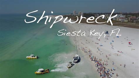 public boat r steinhatchee fl shipwreck on siesta key fl public beach youtube