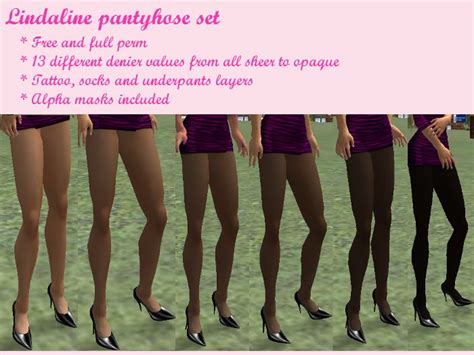 what to put in stockings second life marketplace lindaline pantyhose set for