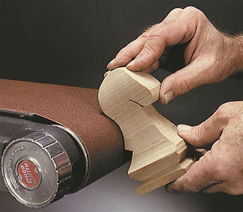 sanding woodwork shopsmith 6 quot belt sander
