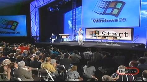 Windows Vista Launch Bill Gates Speech 4 The One Where We Find Out What It Actually Does by Windows 95 The Bill Gates Introduced By Leno