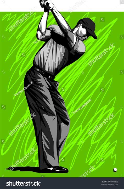 Swing Golf Italiano by Precision Golf Swing Stock Vector Illustration 5903395