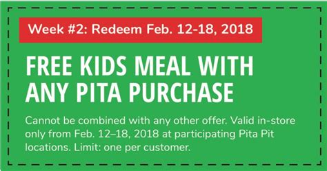 pita pit canada promotions free meal with any pita