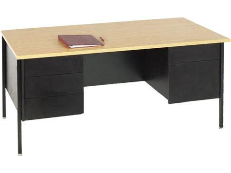 Teachers Desk by Pedestal Teachers Desk Steel Legs 72 Quot X30 Quot Desks