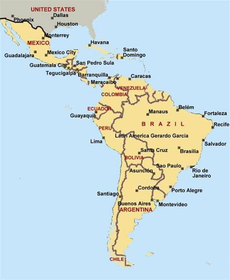 map of central and south america mexico central and south america map www pixshark