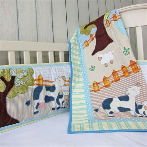 farm crib bedding cotonnier s farm animal crib bedding set baby r s