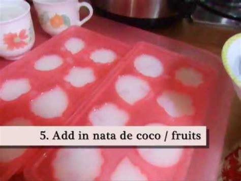 Tepung Powder Nata De Coco how to make almond jelly