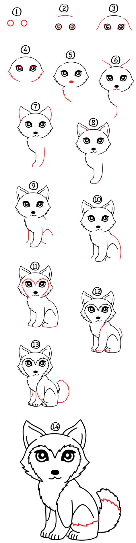 how to a husky how to draw a husky