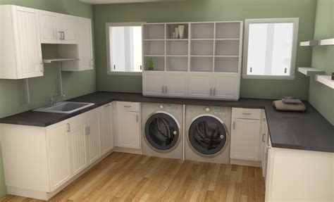 laundry room cabinet design ideas shelving for laundry room ideas homesfeed