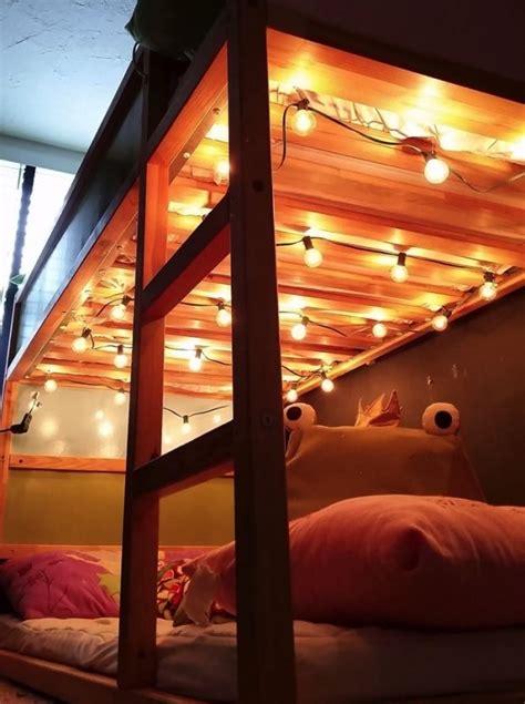 bunk bed lights 25 best ideas about bunk bed desk on pinterest bunk bed