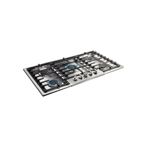 bosch 800 gas cooktop bosch 800 series 36 quot gas cooktop ngm8655uc with 5 sealed