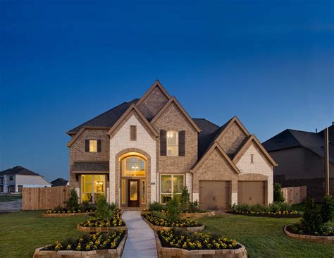 perry homes opens model home in island in katy
