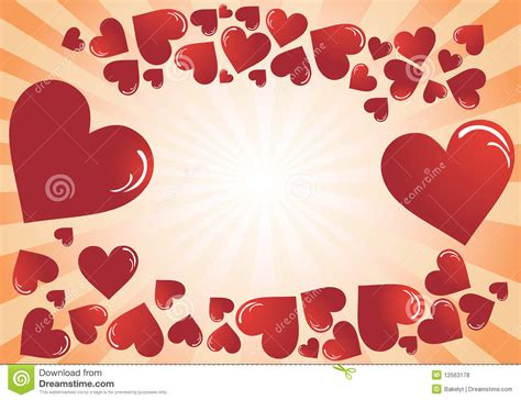 valentines posts for s day post cards royalty free stock photos