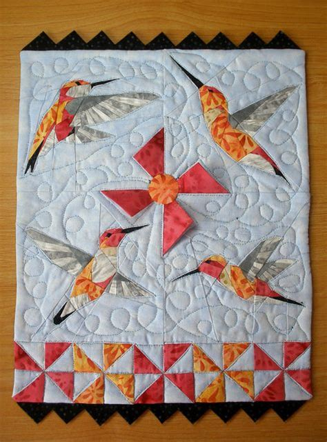 How To Make A Hummingbird Out Of Paper - hummingbirds patterns and paper on