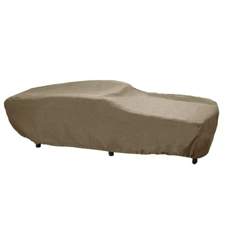 outdoor furniture covers chaise lounge brown greystone patio furniture cover for the