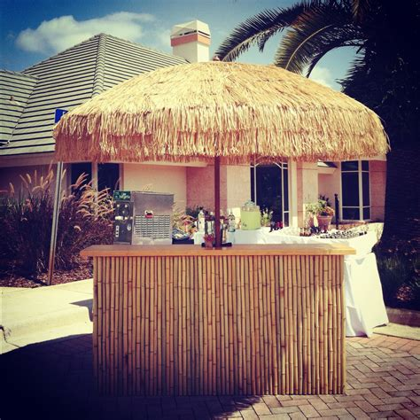 17 best ideas about tropical style on pinterest tropical style decor beach style live plants our custom bamboo tiki bar and umbrella perfect for