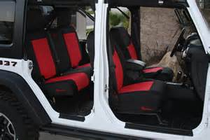 Seat Covers For Wrangler Jeep Trek Armor Seat Cover Installs On 2013 Jeep Wrangler