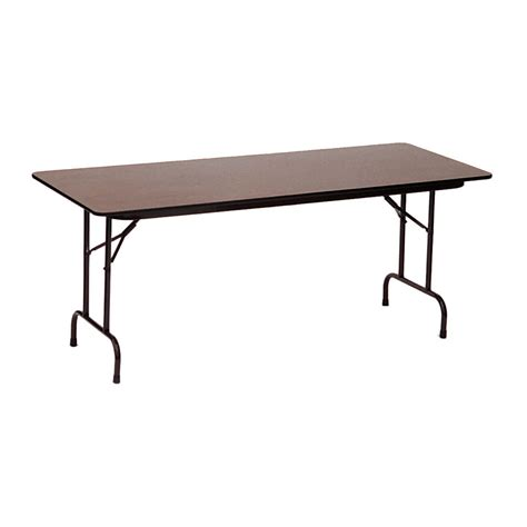 Folding Table Top by 24x60 Melamine Top Folding Table In Folding Tables