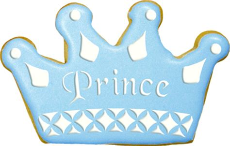 How To Make A Prince Crown Out Of Paper - prince crown cookie stencils 2
