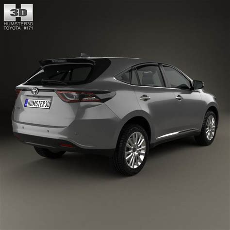 Toyota Harrier 2013 Toyota Harrier 2013 3d Model Hum3d