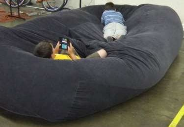 giant bean bag bed jojonye