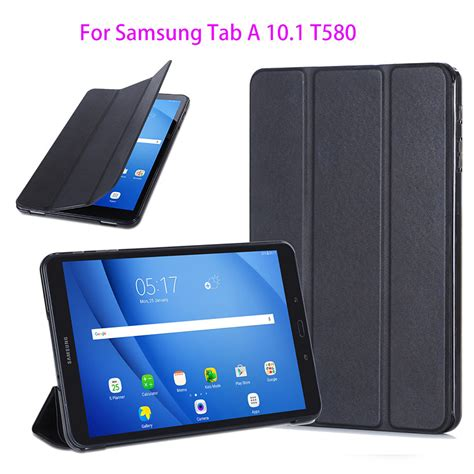 Promo Samsung Slim Cover Galaxy A3 2016 Original T1910 slim pu cover for samsung galaxy tab a a6 10 1 2016 t580 t585 t580n sm t580 protege tablet