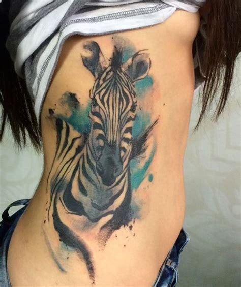 Zebra Tattoo Instagram | stunning zebra tattoo inkstylemag