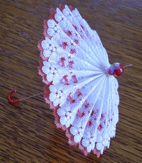 vellum paper craft ideas parchment craft umbrella parasole la de