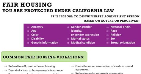 fair housing laws fair housing is the law all east bay properties