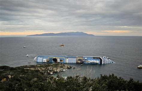 why did the costa concordia sink sail cork
