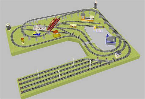 lionel o gauge layout design software toy train layout design study for a toy train layout